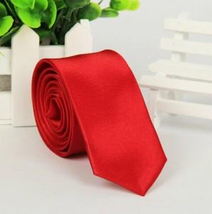 Галстук для жениха красный