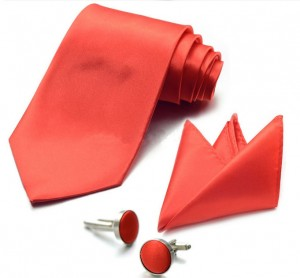 Набор для жениха красный