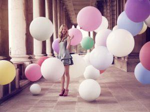 Гигантские шары для фотосессии