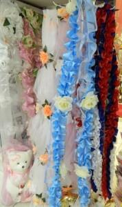 Ленты на капот на свадебную машину