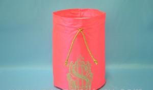 Мешок для сбора денег розовый