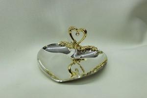 Тарелочка для свадебных колец
