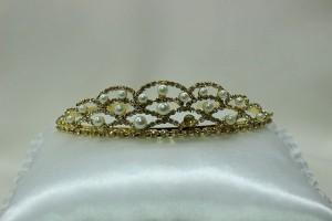 Диадема невесты для свадебной прически