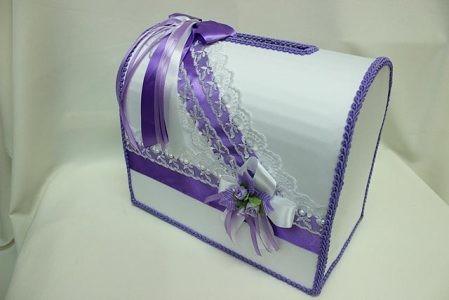 Коробка банк на свадьбу