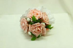 Букет дублер свадебный персиковый