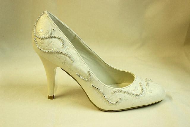 Свадебные туфли обувь айвори
