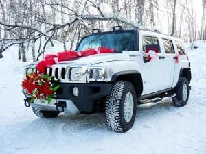 Свадебные машины в Новосибирске Hummer H3