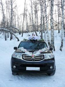Аренда свадебной машины на 7 мест в Новосибирске