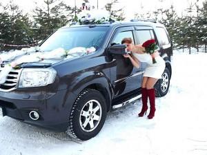 Аренда свадебного автмобиля Honda Pilot