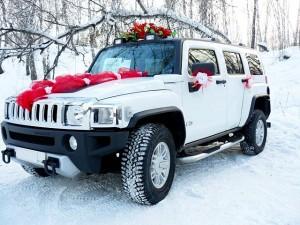 Свадебная машина Hummer H3