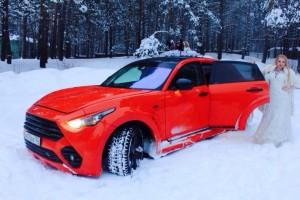 Прокат свадебного авто Инфинити FX 50S