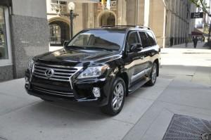 Прокат авто на свадьбу Lexus LX 570
