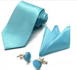 Набор для жениха голубой