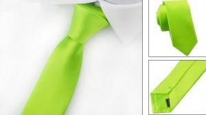 Галстук для жениха зеленый