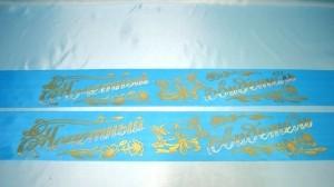 Ленты для свидетелей голубые