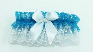Подвязка-невесты-голубая