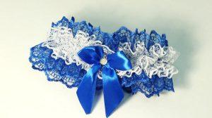 Подвязка-невесты-синяя