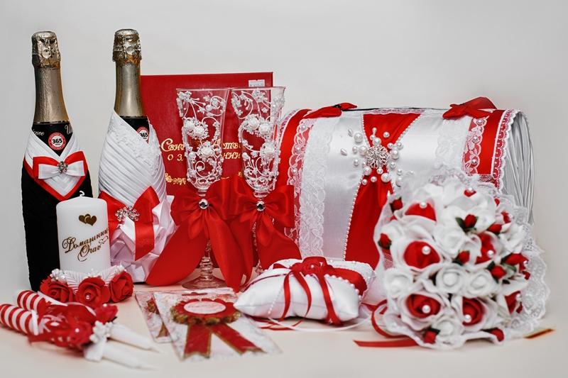 Свадебный-набор-красный-новосибирск