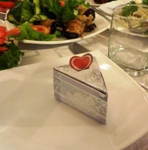 Бонбоньерка на свадьбу