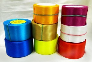 Ленты цветные атласные метражом