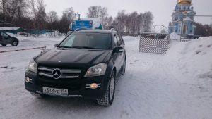 Прокат свадебного автомобиля Mercedes-Benz GL 500