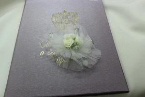 Браслет на руку подружки невесты белый