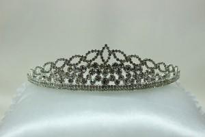 Диадема корона для свадебной прически