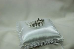 Гребешок корона диадема для свадебной прически