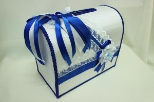 Семейный банк, коробка для сбора денег синий