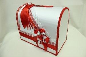 Семейный банк, коробка для сбора денег красный