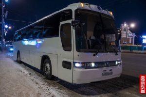 Заказ свадебного автобуса на 25 человек