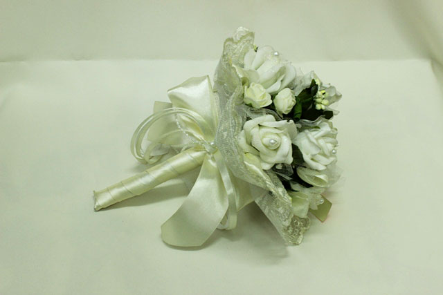 Букет дублер свадебный айвори