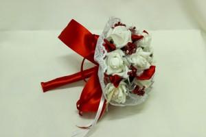 Букет дублер свадебный красный