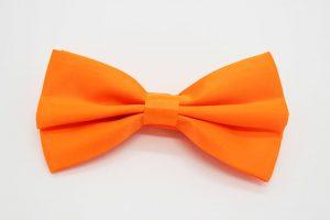 Бабочка жениха оранжевый цвет