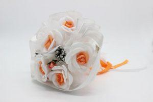 Букет дублер невесты оранжевый