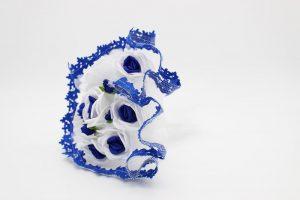 Букет дублер для невесты синий