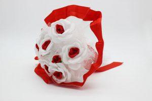 Букет дублер невесты красный