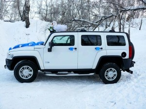 Белый Hummer H3 Новосибирск