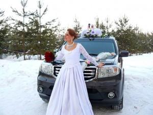 Аренда свадебной машины на 7 мест